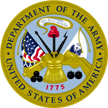 US Department of the Army Seal
