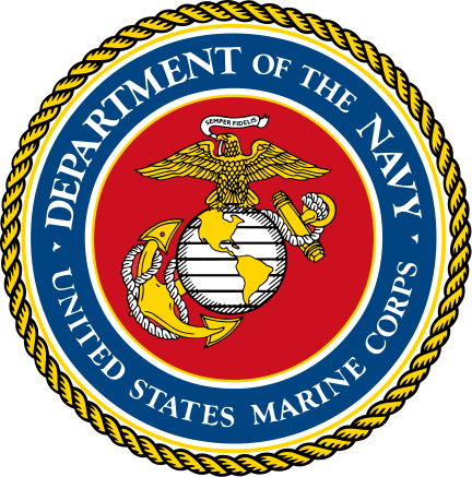 US Department of the Navy United States Marine Corps Seal